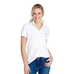 Vineyard Vines Women's white polo